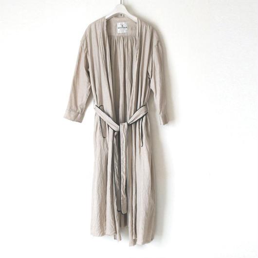 《在庫稀少》 BOUTIQUE linen coat TO-3200   /OFF BEIGE