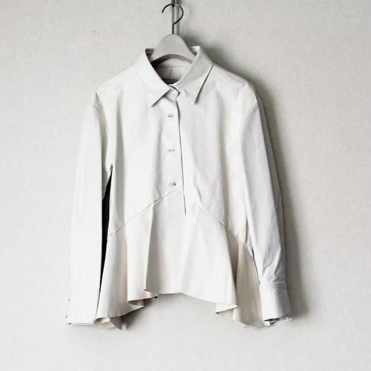 《オーダーメイド》雑誌 ecrat 掲載 BOUTIQUE feather leather shirt  TJG-3200