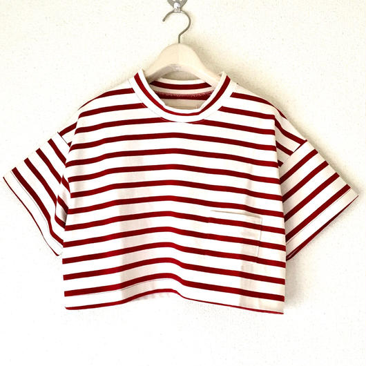 VACANCES border petit T-shirts  TM-2800 /RED