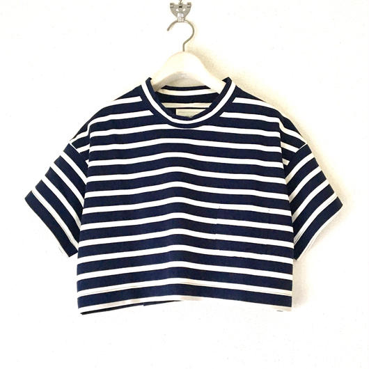 VACANCES border petit T-shirts  TM-2800/ NAVY