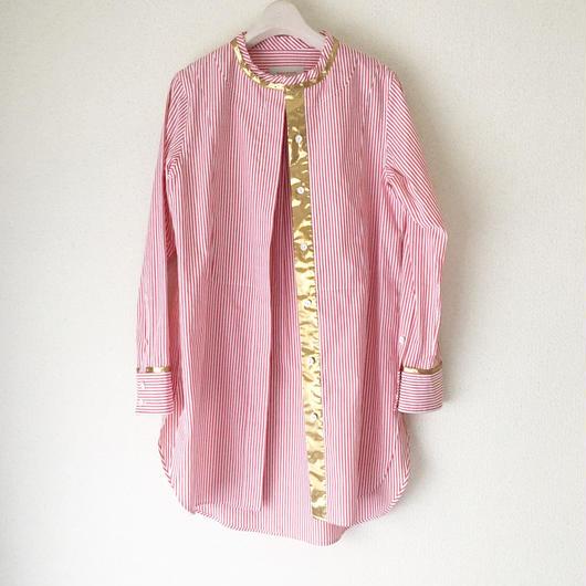 終了しました《予約販売》BOUTIQUE  cotton x metal shirts  TG-2700