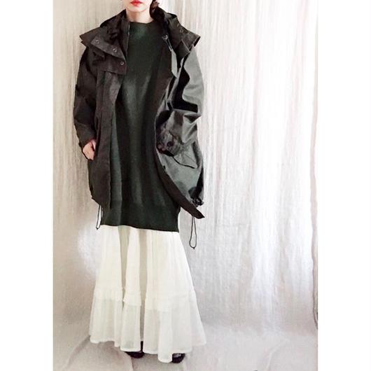 BOUTIQUE  cotton foodie coat /DARK KAHKI