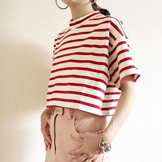 VACANCES border petit T-shirts  TM-2800 /RED