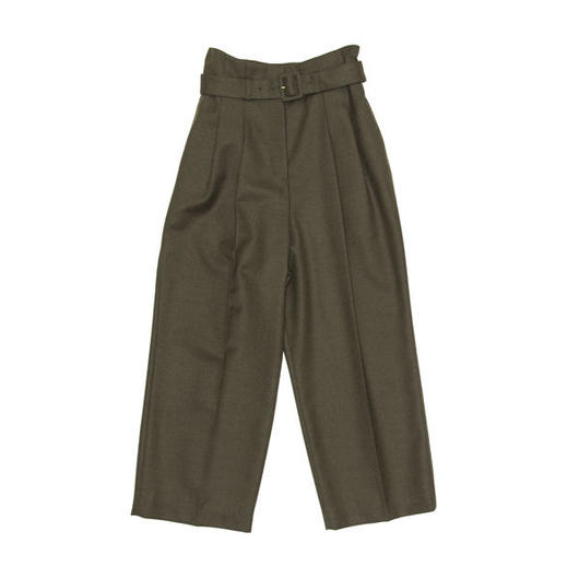 BOUTIQUE army serge pants KHAKI BROWN