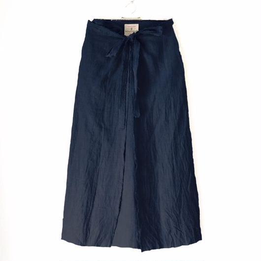 終了しました《予約販売》BOUTIQUE  linen  wrap skirt  TC-3500'