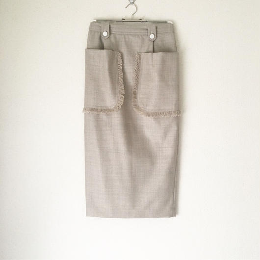 BOUTIQUE  army serge skirt  TC-3103