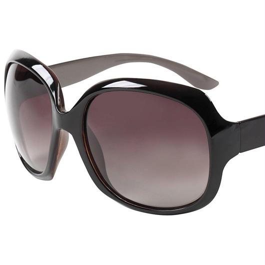 レディース サングラス バタフライ UV400 紫外線 カット率99.9 % UVカット 偏光レンズ (1コーヒー)