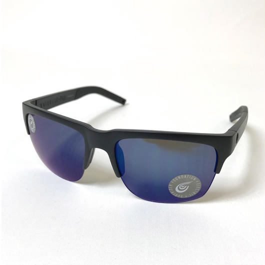 ELECTRIC SUNGLASS KNOXVILLE PRO MATTE BLACK BLUE
