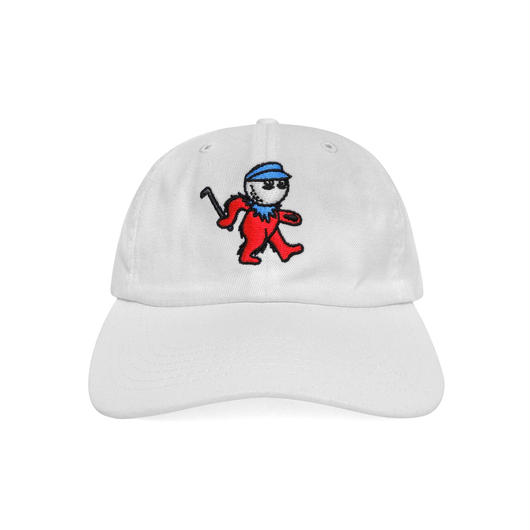 Dancing Buckets Dad Hat in White