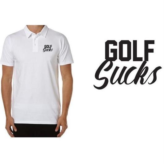 GolfGods Golf Sucks Polo