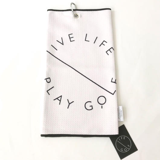 LIFE GOLF TOWEL