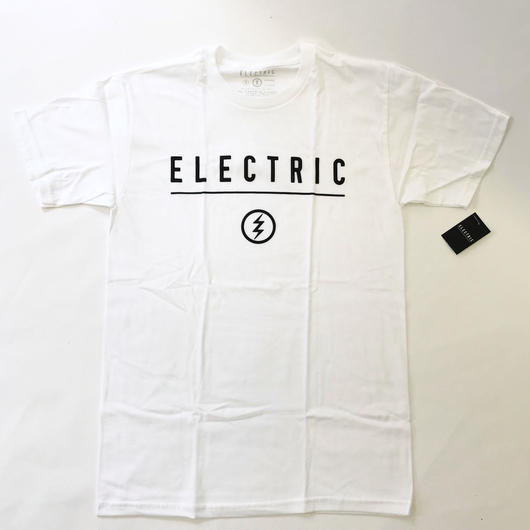 ELECTRIC GOLF IDENTITY T-SHIRT (WHITE)