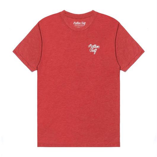 MalbonGolf SHINNECOCK TEE IN RED