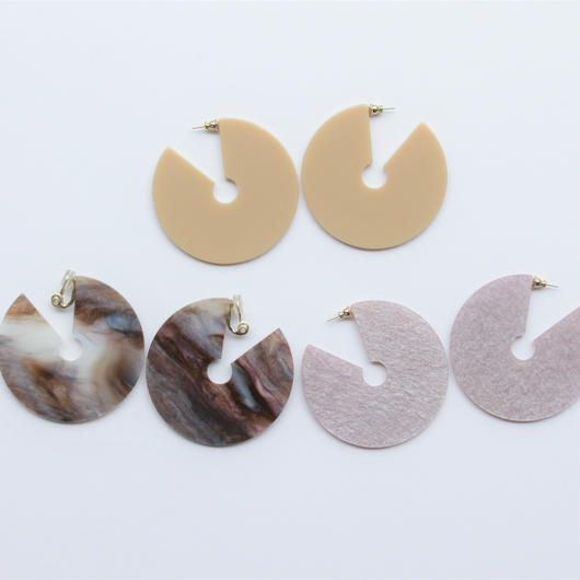 round shape pierce marble