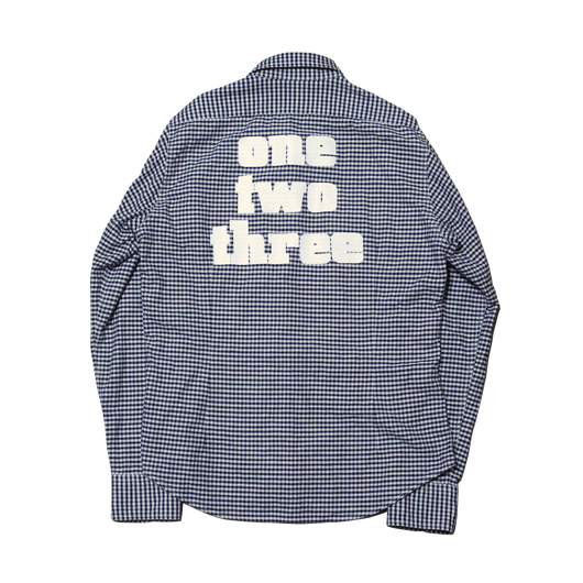 Reprint check shirt gingham
