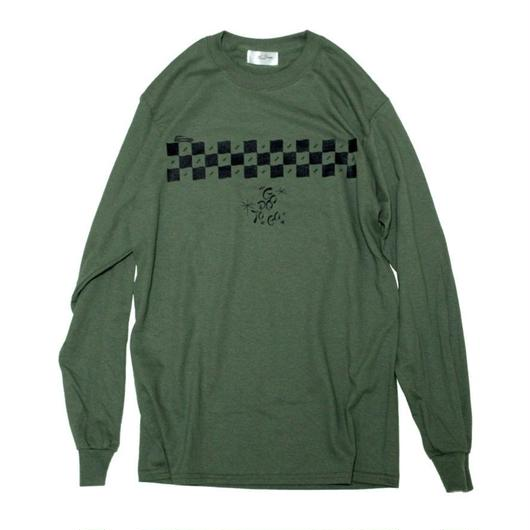 CHECKER L/SL Tee