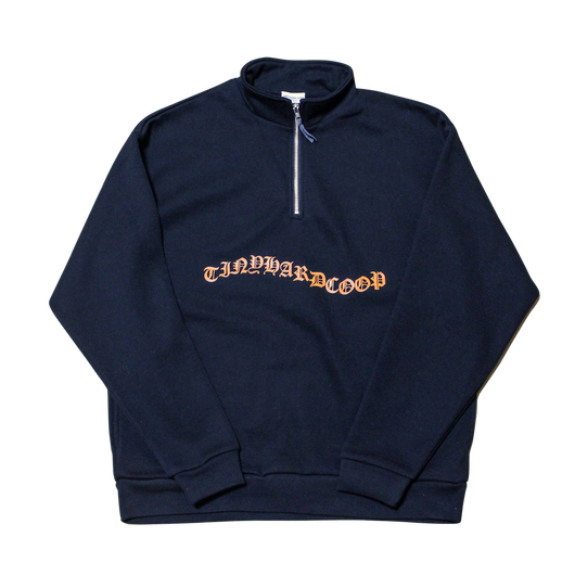 English halfzip sweat