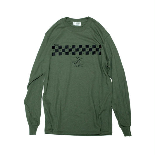 CHECKER L/SL T-shirts