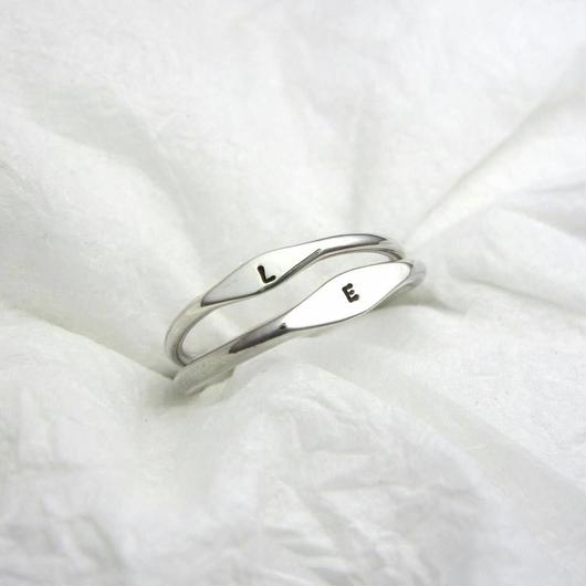 simple silver ring [1.5mm #ツヤ有仕上げ]