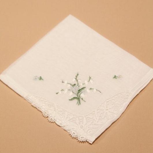 アンティーク刺繍ハンカチ