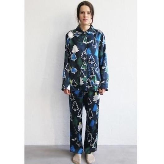 長袖パジャマシャツ(ネイビー)•パンツは別売です