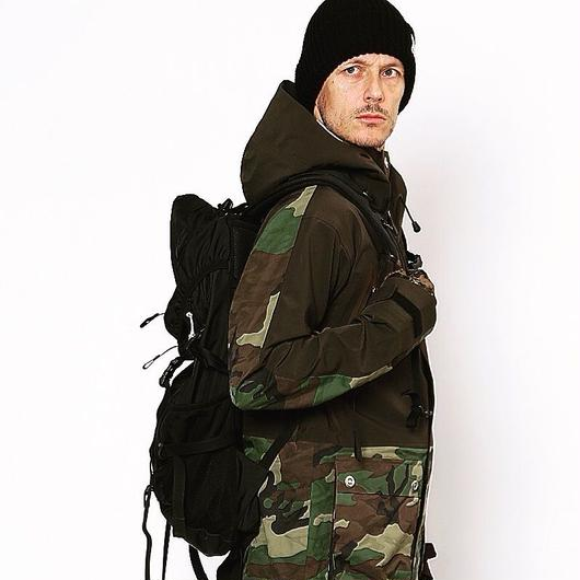 HUMAN Jacket 4WAY BROWN×W-CAMO(4WAYブラウン×3Dカモ
