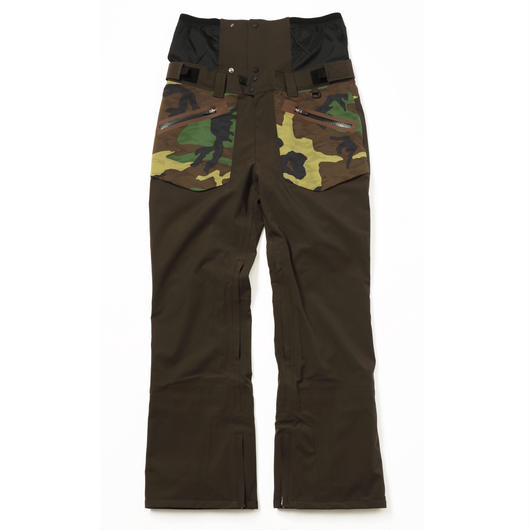 COM-06 STRAIGHT Pants. 《#2BROWN×3D-CAMO》
