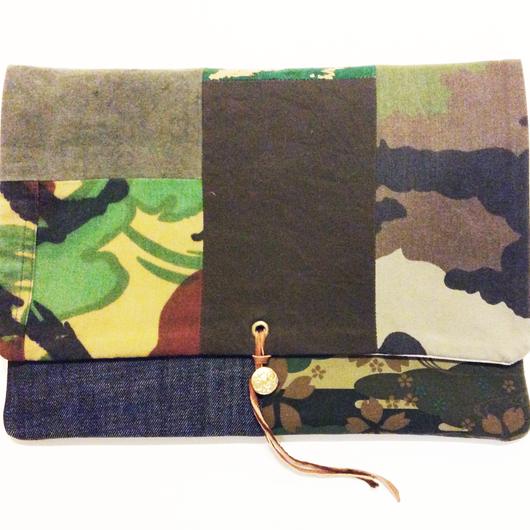 REMADE Clutch Bag 《クラッチバッグLサイズ 》