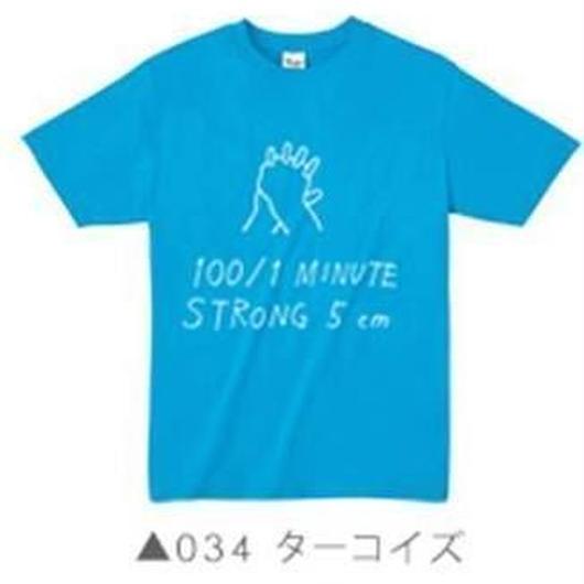 100/1Tシャツ034 ターコイズ