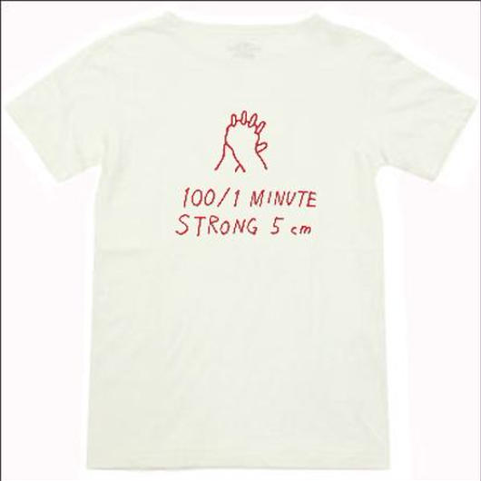 ホワイト(赤文字)