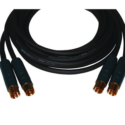 RR15 RCAプラグPCOCCケーブル1.5m 2本1組