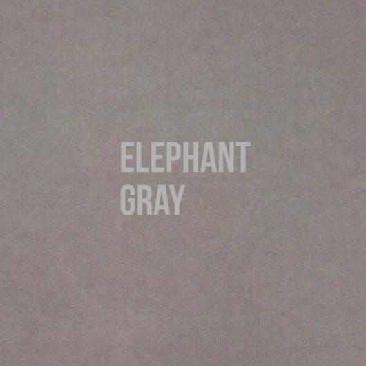 単色転写紙  Elephant グレー