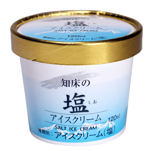 知床の塩アイスクリーム 10個