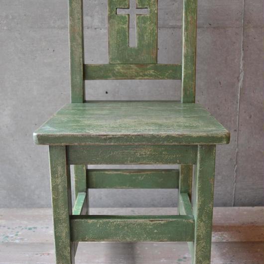 キッズチャーチチェアー(green)