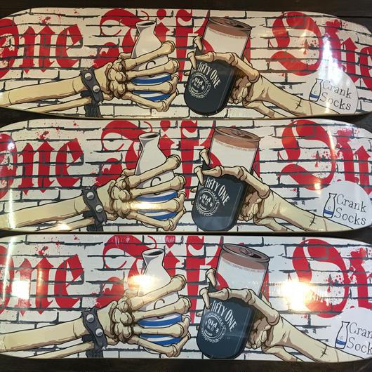 151skateboards xCranksocks