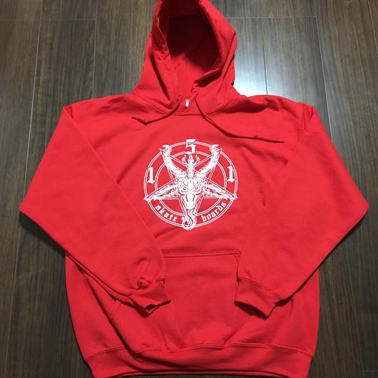 Pentagram Hoody Red