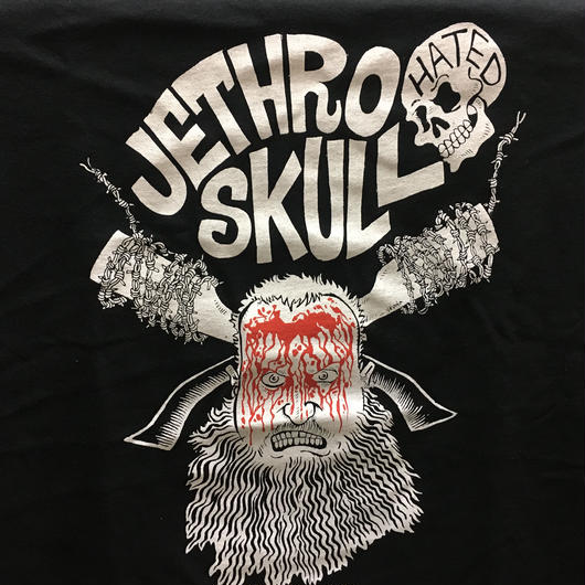 Jether skull Bloody face Tee