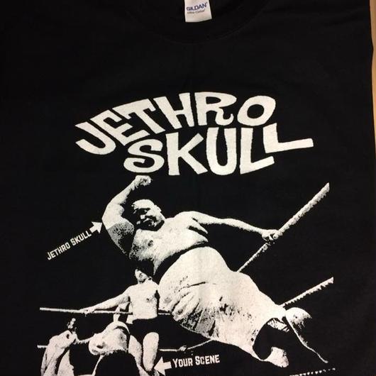 Jethro skull.Elbow drop Tee