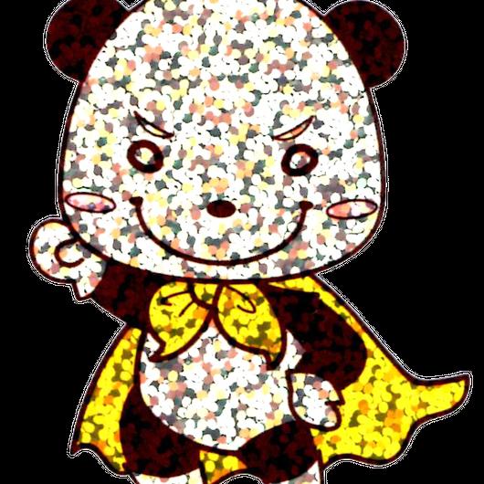 パン太ステッカー(キラキラ)