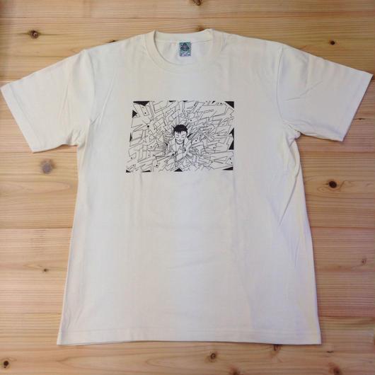 """""""シゼントモッテル"""" T-shirt"""