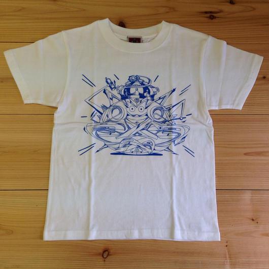 """""""モッテルキッズ"""" T-shirt white"""
