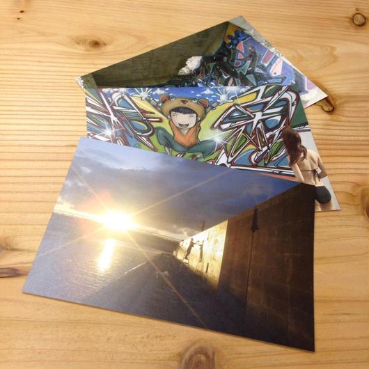 """shizentomotel"" postcards set"
