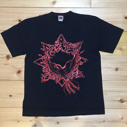 """""""シゼントモッテル"""" Spot Item T-Shirt 黒"""