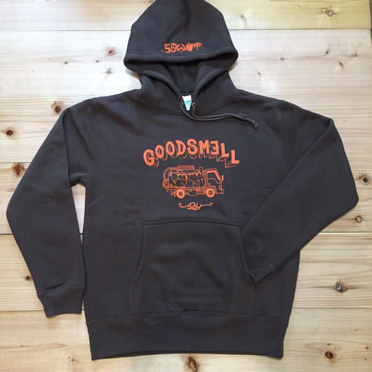 """GOWST""HOOD PARKA 'GOOD SMELL'"