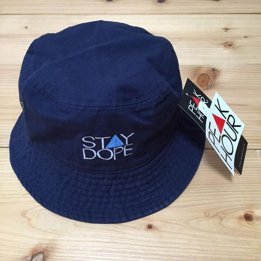 PEAK▲HOUR 'ST▲Y DOPE BLUE' Bucket Hat