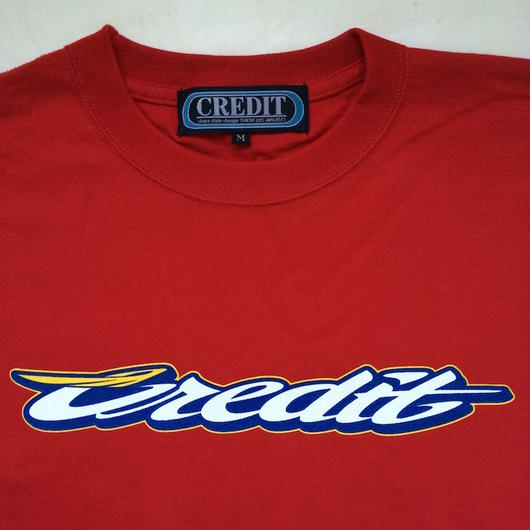 "CREDIT ""GRAND PRIX"" T-SHIRTS・Red"