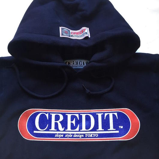 "CREDIT ""ORIGINAL LOGO HOODIE"" SWEAT・Naby"