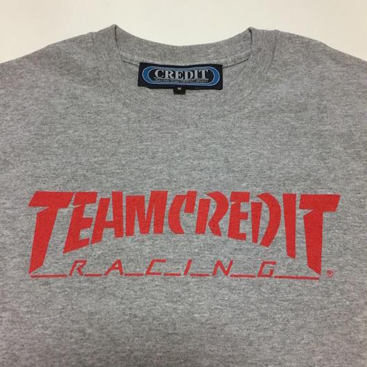 TEAM CREDIT RACING・Gray・Kids