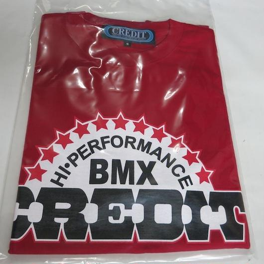 """CREDIT"" HI-PERFORMANCE BMX・Red"