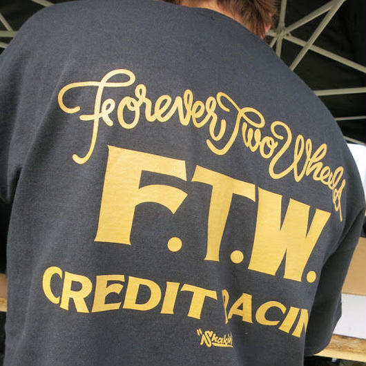 """F.T.W. """"Forever Two Wheels"""" 10th 記念モデル"""